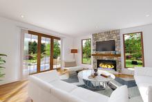 House Plan Design - Contemporary Interior - Family Room Plan #48-986