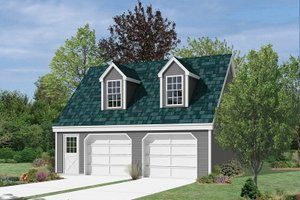 Dream House Plan - Colonial Exterior - Front Elevation Plan #57-634