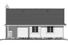 Country Exterior - Rear Elevation Plan #18-1047