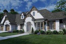 House Plan Design - Farmhouse Exterior - Front Elevation Plan #120-264