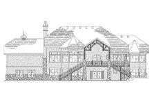 Home Plan - European Exterior - Rear Elevation Plan #5-399