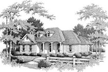 House Plan Design - Colonial Exterior - Front Elevation Plan #14-227