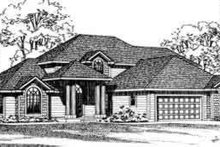 Traditional Exterior - Front Elevation Plan #72-458