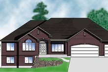 Traditional Exterior - Front Elevation Plan #5-131