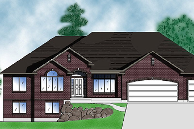 Home Plan - Traditional Exterior - Front Elevation Plan #5-131
