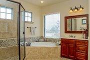 European Style House Plan - 4 Beds 4 Baths 4050 Sq/Ft Plan #80-160 Interior - Master Bathroom