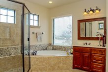Dream House Plan - European Interior - Master Bathroom Plan #80-160