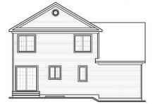 Traditional Exterior - Rear Elevation Plan #23-659