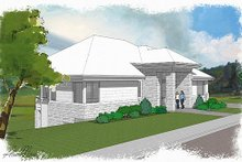Exterior - Front Elevation Plan #48-480