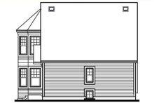 House Plan Design - Cottage Exterior - Rear Elevation Plan #23-505