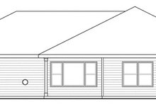 House Plan Design - Traditional Exterior - Rear Elevation Plan #124-869