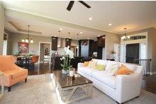 Home Plan - Mediterranean Interior - Family Room Plan #20-2174