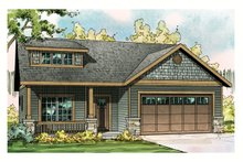Dream House Plan - 1700 square foot craftsman home