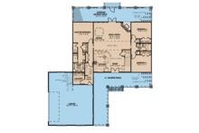Farmhouse Floor Plan - Main Floor Plan Plan #923-106