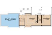 Farmhouse Floor Plan - Lower Floor Plan Plan #923-63