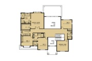 Country Style House Plan - 5 Beds 4.5 Baths 4235 Sq/Ft Plan #1066-42 Floor Plan - Upper Floor Plan