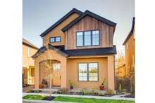 Dream House Plan - Traditional Exterior - Front Elevation Plan #124-877