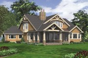 Craftsman Style House Plan - 4 Beds 4 Baths 2815 Sq/Ft Plan #132-211 Exterior - Rear Elevation