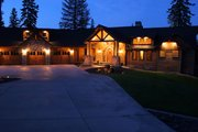 Craftsman Style House Plan - 4 Beds 4.5 Baths 4812 Sq/Ft Plan #921-23 Exterior - Front Elevation
