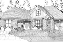Home Plan - Traditional Exterior - Front Elevation Plan #63-278