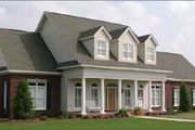 Southern Style House Plan - 4 Beds 4.5 Baths 3540 Sq/Ft Plan #63-125 Exterior - Front Elevation