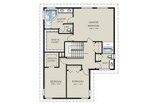 Traditional Floor Plan - Upper Floor Plan Plan #427-7