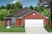 Traditional Style House Plan - 3 Beds 2 Baths 1225 Sq/Ft Plan #84-241 Exterior - Front Elevation