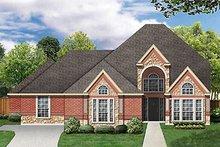 Home Plan - European Exterior - Front Elevation Plan #84-261