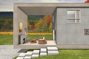 Modern Style House Plan - 4 Beds 3 Baths 1840 Sq/Ft Plan #497-36 Photo