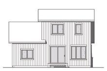 House Plan Design - Craftsman Exterior - Rear Elevation Plan #23-2683