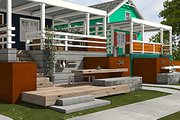 Cottage Style House Plan - 2 Beds 2 Baths 891 Sq/Ft Plan #497-23 Photo