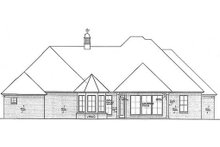 Home Plan - European Exterior - Rear Elevation Plan #310-694