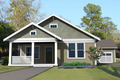 Craftsman Style House Plan - 3 Beds 2 Baths 1590 Sq/Ft Plan #461-20 Exterior - Other Elevation