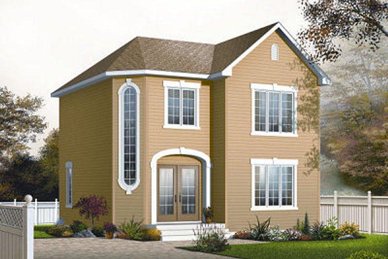 Dream House Plan - European Exterior - Front Elevation Plan #23-742