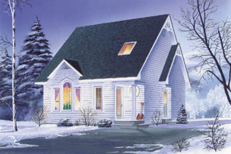 Traditional Exterior - Front Elevation Plan #23-2092