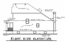 House Plan Design - Craftsman Exterior - Rear Elevation Plan #20-1220