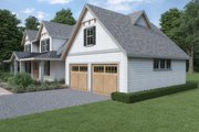 Cottage Style House Plan - 3 Beds 3 Baths 3419 Sq/Ft Plan #1070-72 Exterior - Other Elevation