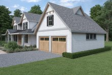 Dream House Plan - Cottage Exterior - Other Elevation Plan #1070-72