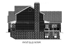 Dream House Plan - Craftsman Exterior - Other Elevation Plan #56-587
