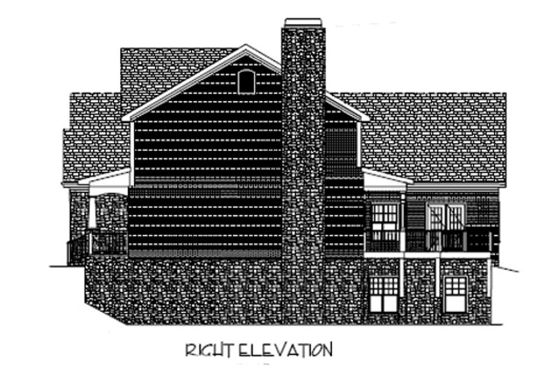 Craftsman Exterior - Other Elevation Plan #56-587 - Houseplans.com