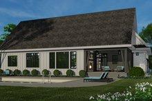 Dream House Plan - Farmhouse Exterior - Rear Elevation Plan #51-1157