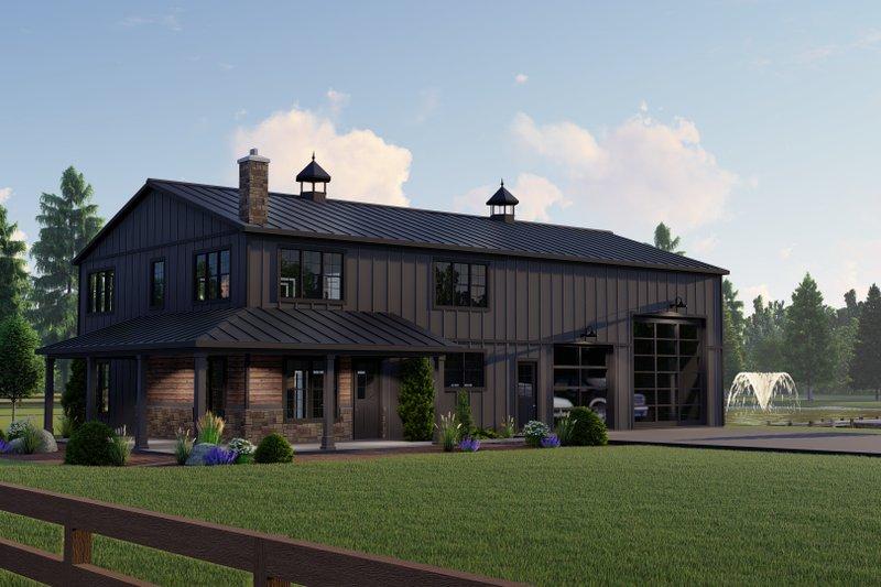 Dream House Plan - Farmhouse Exterior - Front Elevation Plan #1064-149