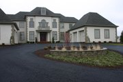European Style House Plan - 4 Beds 3.5 Baths 3335 Sq/Ft Plan #20-1118 Exterior - Front Elevation