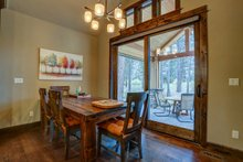 Dream House Plan - Craftsman Interior - Dining Room Plan #892-29