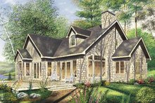 Traditional Exterior - Front Elevation Plan #23-254