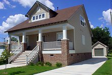 Front View - 1900 square foot Cottage home