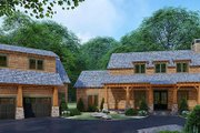 Country Style House Plan - 3 Beds 4 Baths 2687 Sq/Ft Plan #923-127 Exterior - Front Elevation