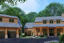 Country Exterior - Front Elevation Plan #923-127
