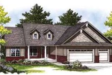 Dream House Plan - Traditional Exterior - Front Elevation Plan #70-826