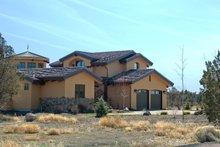 House Plan Design - Mediterranean Exterior - Front Elevation Plan #892-5